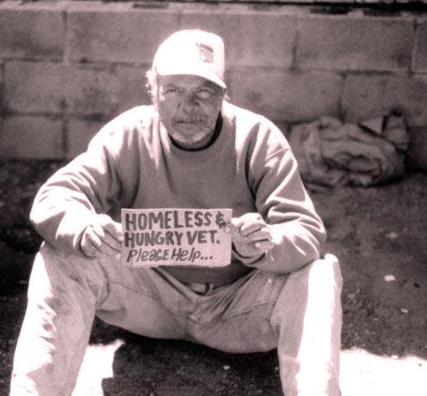 articles regarding displaced veterans