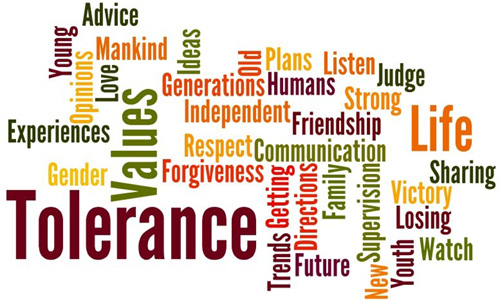 tolerence of religion Part 2: more examples from the prophet's life which portray his tolerance of other  religions, many mistakenly believe that islam does not tolerate the existence of.