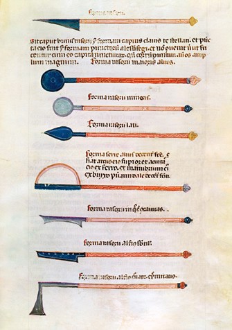 Al-Zahrawi's annotated illustrations of surgical instruments were circulating in Europe in Latin translation in the 14th century.